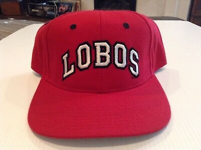 official photos d2233 b9e4b VTG NWT University of New Mexico Lobos Zephyr Fitted Hat Cap Size 7 1 8