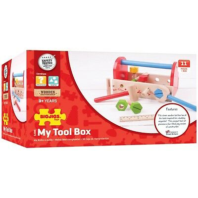 Bigjigs Toys My Tool Box Bnib Role Play Wooden Toys Traditional Toys