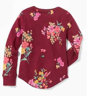 2ac7307c OLD NAVY THERMAL-KNIT Scoop-Neck Tee for Girls Size S (6-7) NWT lot ...