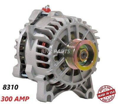 300 Amp 8310 Alternator Ford F Super Duty Excursion NEW High Output Performance