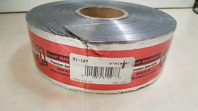 "EMPIRE LEVEL 'CAUTION ELECTRIC LINE BELOW' TAPE 1 ROLL - 3"" x 1000"""