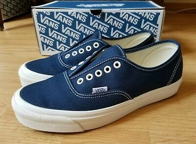 ae28a3fb5c VANS VAULT OG Authentic LX Dress Blues Wrought Iron 9 preowned VG ...