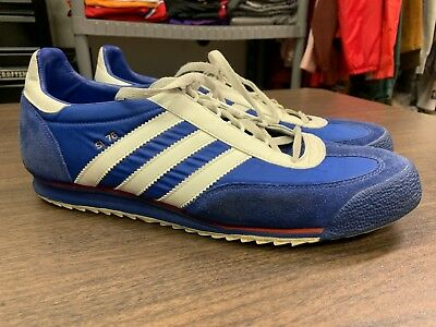 reputable site fe5c7 154b9 Vintage Adidas SL 76 Starsky and Hutch Men s Shoes - Size 12 - Blue White