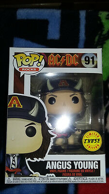 Funko POP! Rocks AC/DC Angus Young chase variant (soft protector)