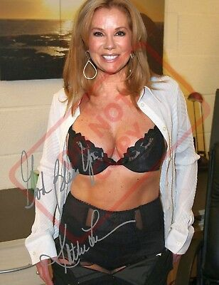 8.5x11 Autographed Signed Reprint RP Photo Kathie Lee Gifford Sexy