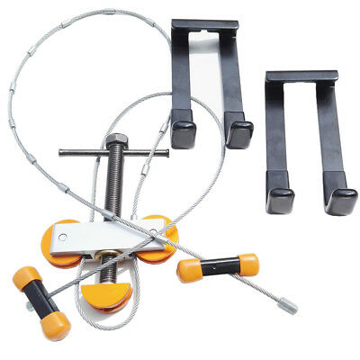 Portable Hand Compound Bow Press with 2 Quad Brackets for Compound Bow Archery