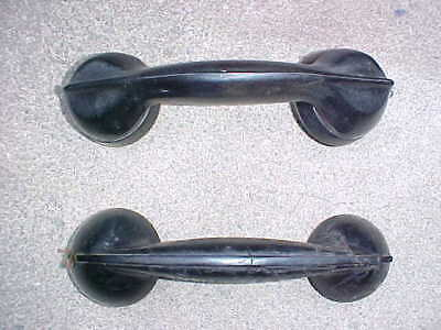 Two Antique Vintage Telephone Handset Old Phone Western Electric?