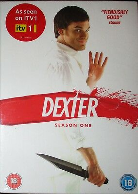 Dexter: Complete Season 1 Box Set Region 2