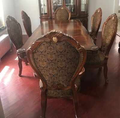 Michael Amini Cortina Formal Dining Room Set 6 Chairs By