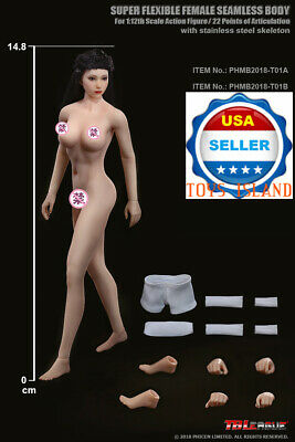 "TBLeague PHICEN 1/12 Female Seamless PHMB2018-T01 6"" Barbie Style Figure ❶USA❶"