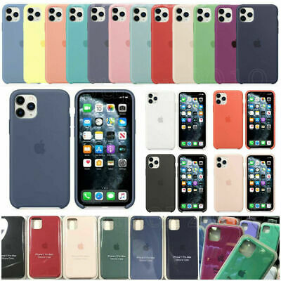 Genuine Official silicone souple Case Cover Housse Pour i Phone XR XS 8 7 6 Plus