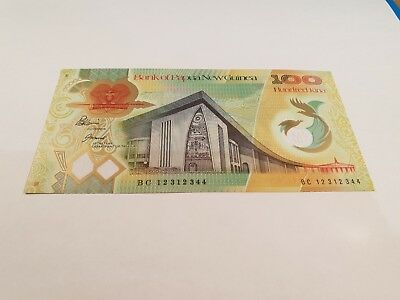 Papua New Guinea. ONE HUNDRED  KINA Banknote. 100. 2012. Unc. Mint, P44