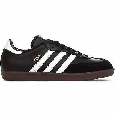 sports shoes 8ed3a a53d7 Adidas Samba pelle da Uomo Calcio Moda Trainer Scarpa Nero - UK 7