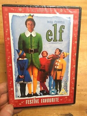 Elf-2 Disc Special Edition(R2 DVD)New+Sealed Will Ferrell Zooey Deschanel Xmas