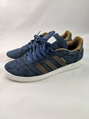 huge selection of d48b1 9ad18 Adidas Etrusco Men s Size 10 Athletic Sneakers Dark Navy Blue great Shape