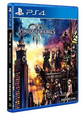 Kingdom Hearts III Asia English subtitle PS4 NEW