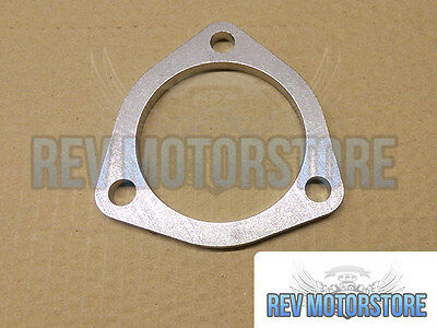 """77mm 3"""" bore exhaust repair joint 3 Bolt 304 Stainless Steel Flange 8mm"""