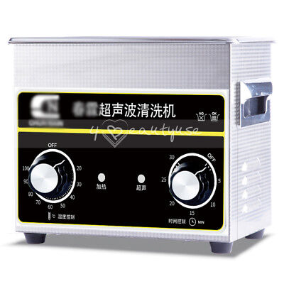15L Mini Ultrasonic Cleaner with Heater Timer For Cleaning Glass Jewelry