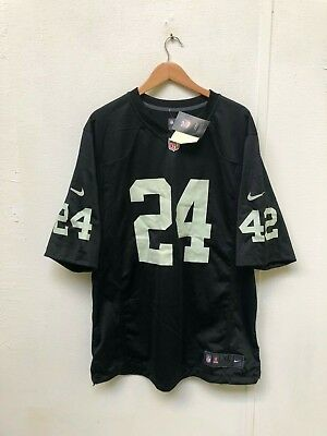 Oakland Raiders Men's Nike NFL Game Jersey - XL - Lynch 24 - New with Defects