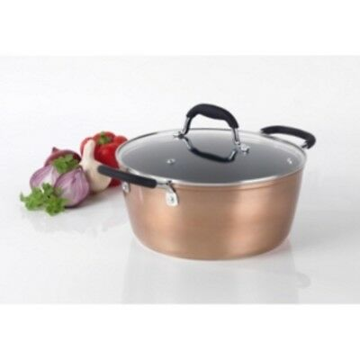 Stockpot Rose Gold Effect Stockpot Suitable For Every Day Use