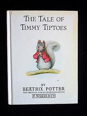 The Tale Of Timmy Tiptoes By Beatrix Potter Frederick Warne 1986