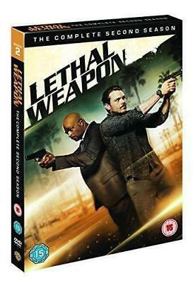 Lethal Weapon Season 2 Region 2 DVD UK 2018 Free Post