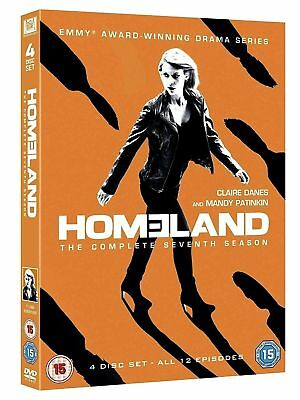 Homeland Season 7 DVD Brand New & Sealed Region 2 UK Fast Delivery
