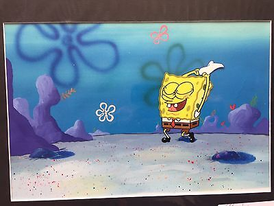 Spongebob Animation Production Cel