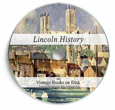 115 Rare Books on DVD Lincoln History Lincolnshire Genealogy Parish Registers 65