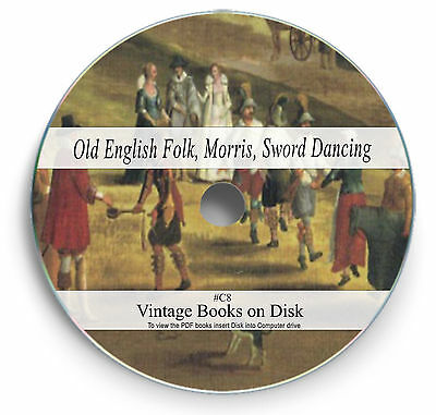 160 Old Books English Folk Songs Music Ballads Morris Sword