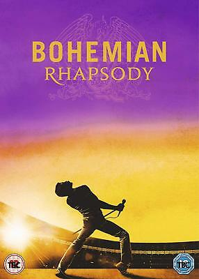 Bohemian Rhapsody - Queen Rami Malek (DVD 2019) Released On 04/03/2019