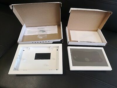 "NEW Paradox Security KIT TM70 7"" touchscreen + Wall-In bracket security original"