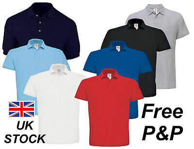 Personalised Embroidered Polo Shirts Logo or Text Workwear Business  Free P&P