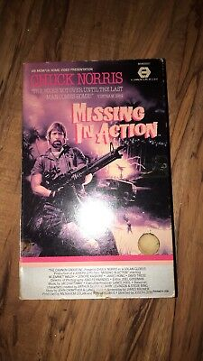 Chuck Norris, Missing In Action (VHS)