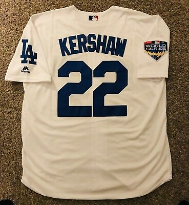 Los Angeles Dodgers Clayton Kershaw 22 White Jersey - Large L - Fast  Shipping 🚚 7b7b3cf8d