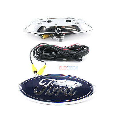PAC BC-FD01 Back-Up Emblem Camera Rearview w/Parking Lines for Ford F-150 Open