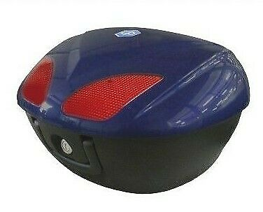 Piaggio Beverly 125 300 350 Top Case Kit 48 Litre Blue 257/A RRP £231.00!!