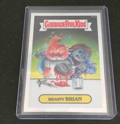 Garbage Pail Kids Chrome 2 Brainy Brian Prism Refractor
