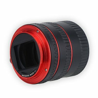 Pro Auto Focus Macro Extension Tube Adapter Ring Set for Canon DSLR EF EOS EF