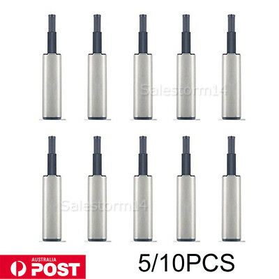 10X Cabinet Soft Close Damper for Cabinet Doors Screws Buffer Push to Open AU