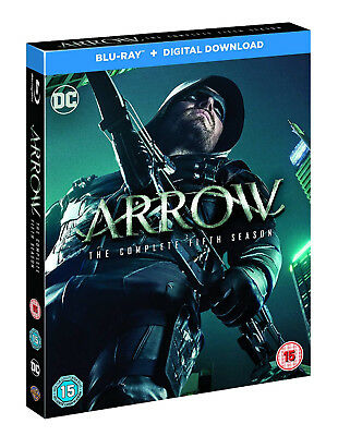 ARROW COMPLETE SERIES 5 BLU RAY Fifth Season 5th UK Rel Brand New Sealed UK R2