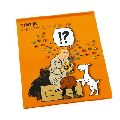 Pop-up Book Moulinsart Tintin The Crab with the Golden Claws FR (24207)