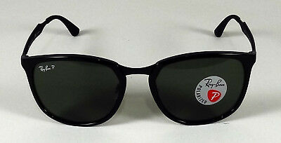 ca1b632c88ddce Ray Ban Active Polarized Green Classic G-15 Square 59Mm Sunglasses Rb4299  601 9A