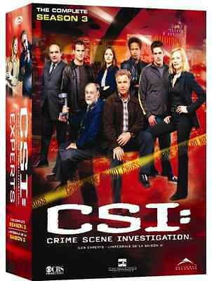CSI: The Complete Third Season (Bilingue) (Bilingual) 6 DVD Set