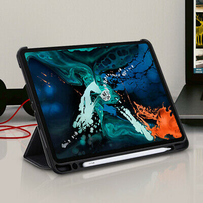 For iPad Pro 12.9 / 10.5 / 9.7 inch Case | Ringke Smart Cover with Pencil Holder