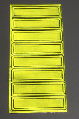 Pyramex Reflective Hard Hat Stickers 8 Pack