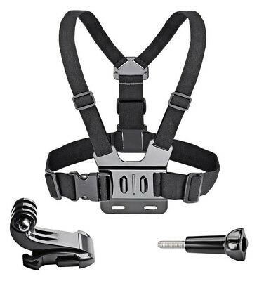 Chest Strap Adjustable Harness Mount for GoPro HERO 3, 4, 5, 6, 7 Xiaomi Yi 4K