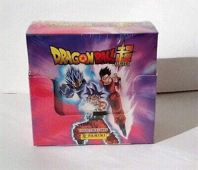 DRAGON BALL SUPER TC. ( Caja completa de 50 sobres de cartas. ) De Panini.