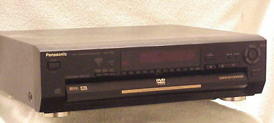 PANASONIC DVD-CV51 === 5-Disc DVD/CD Changer/ Player w/Digital Output (@)