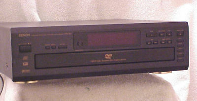 DENON DVM-1800 === High End 5 Disc DVD/CD Changer w/DigitalOut & Remote Control